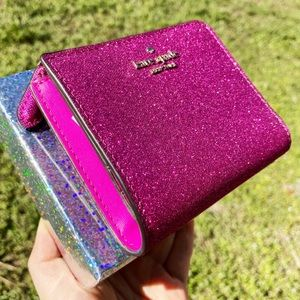 Glitter🌸Kate Spade Wallet New In Box